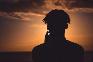 horizon man dreadlocks hd wallpaper sunlight clouds golden horizon cool portrait photography love