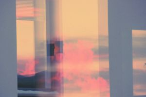 impressionism reflective blur dreaming abstract background surrealism light reflections glass windows windows fantasy