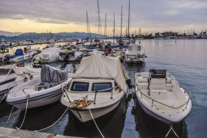 italy sea harbor boats