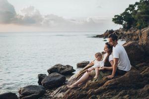 landscape ocean sea relaxation adults scenic daylight summer seascape rocks
