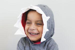 little person portrait baby adorable child joy laughing smiling wear