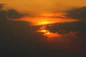 love romantic sun evening redness dawn sunset nature