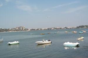 madhya pradesh city boats bhopal daytime india