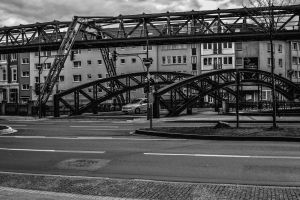 monochrome photography bridge architecture urban photography