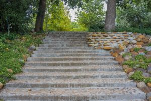 nature garden farm stairs country rocks nature photography trees