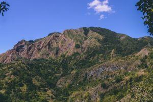 nature hike hill mountain landscape