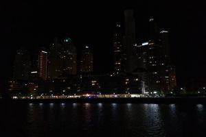 night nomad city lights building