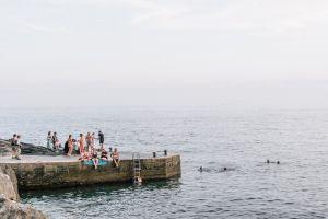 ocean people sea pier