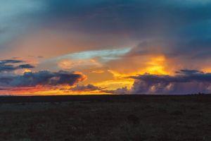 panoramic dramatic sky landscape panoramic view panorama clouds cloudy landscapes sunset cloudy sky