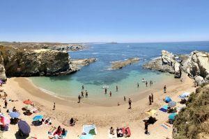 paradise vacation portugal beach costavicentina