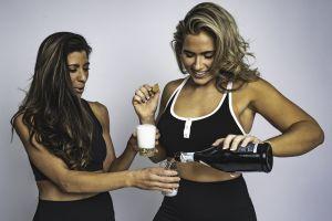 pouring women drinks beauty wear beautiful people