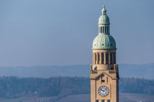 prostějov tower town hall czech