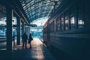 railway station railway train railway platform electric train