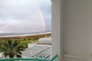 rainbow wallpaper perfection rainbow bridge beach balcony outdoor photography beach front aerial photography