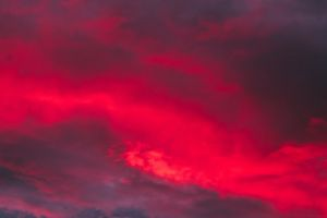 red colour skyscape color sunset cloudiness clouds dramatic sky cloudscape
