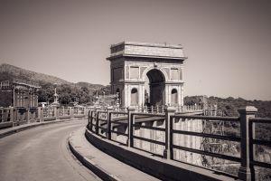 road building mountain architecture landscape south africa vintage arch bridge dam