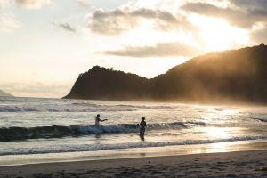 sand beach ocean cityscape seawater diary sea scape landsape sun glare by the sea freedom