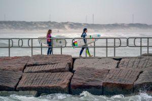 sand beach surfing cold ocean surfer girls surfboard surf