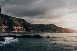 sea ocean new zealand nature coastal seascape landscape coast