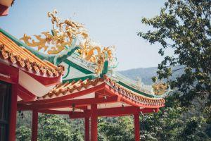 shrine worship architecture trees landmark daylight religion culture pagoda park