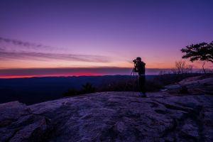 sight photographer environment trees sky using recreation male dawn adventure