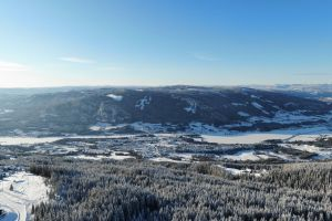 snow cold norway ice hafjell skiing mountain winter