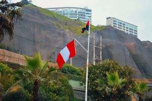 south america windy peruvian flag countries flag photography lima travel photography flag poles national pride miraflores