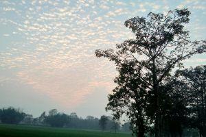 springtime cloudscape sky cloudy sky