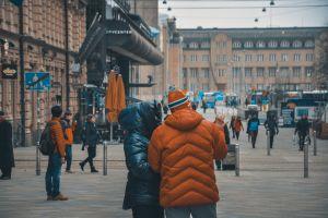 street life pass city helsinki people love