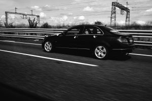 street photography black and white drive #outdoorchallenge wedding car speed