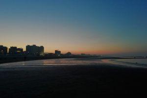 sunset beach sea spiaggia beach mare tramonto