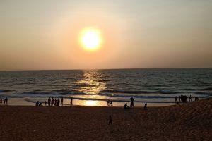 sunset beach sunset beach sea beach sand beach