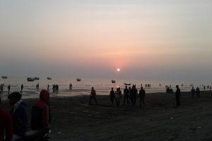sunset beach sunset sun set sea beach sunset kuakata kuakata sunset