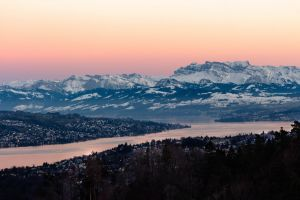 sunset snow capped mountain ray of sunshine alps snow capped mountains nature switzerland alp