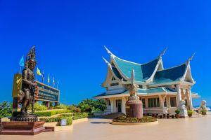 thani temple texture buddhist culture architecture thailand ancient religion udon