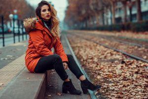 trendy fashionable pose beauty elegant beautiful woman pretty stylish style