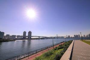 trt digital park bridge sky tokyo water filmmaker nature naim.tokyo rever