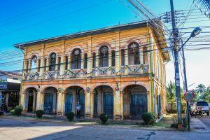 vintage stone catholic historic colonial architecture urban ancient landmark tourism