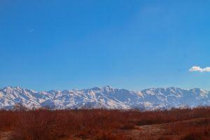 winter mountain natural