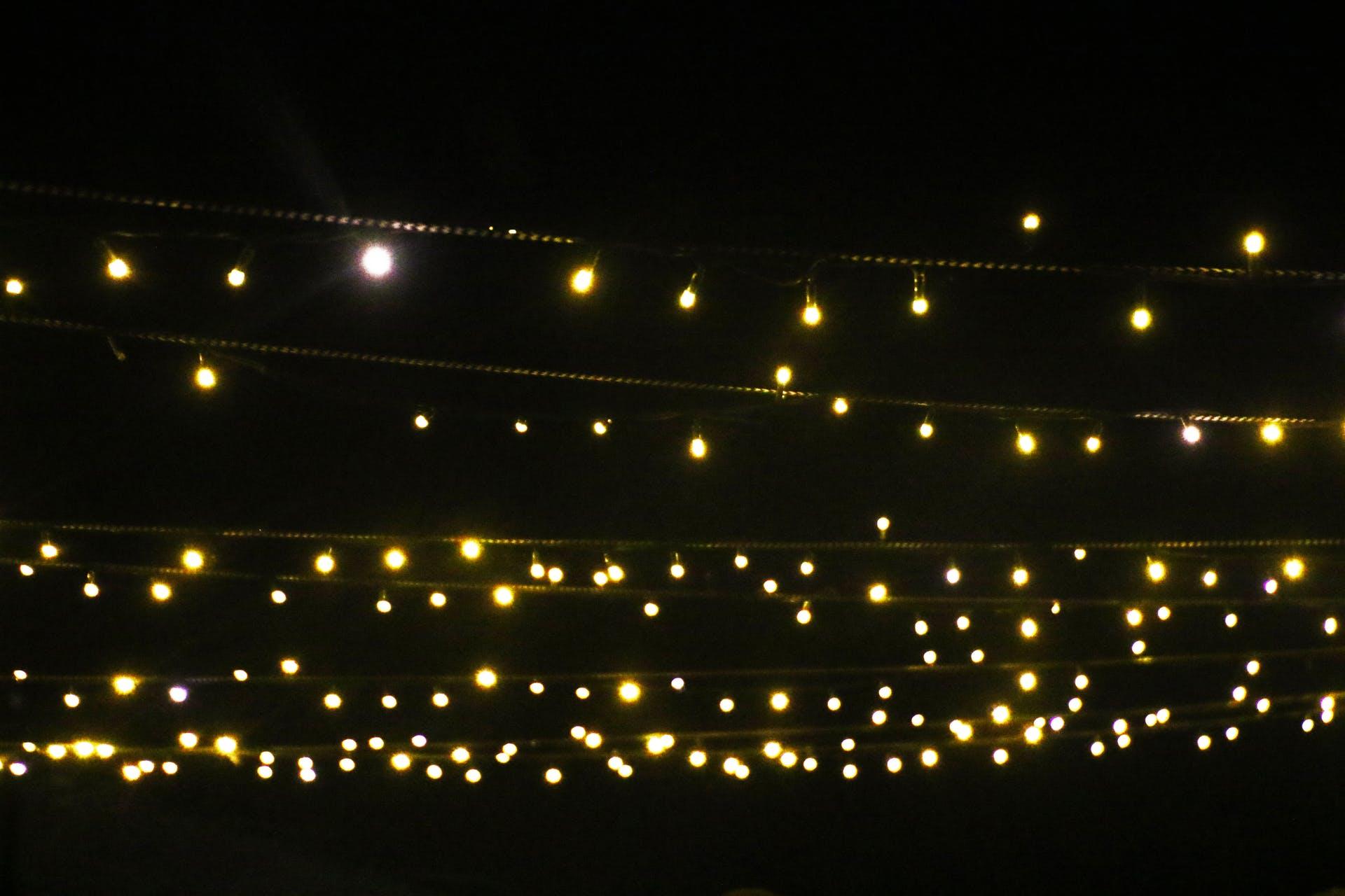backgrounds minimalism evening wedding lights shiny