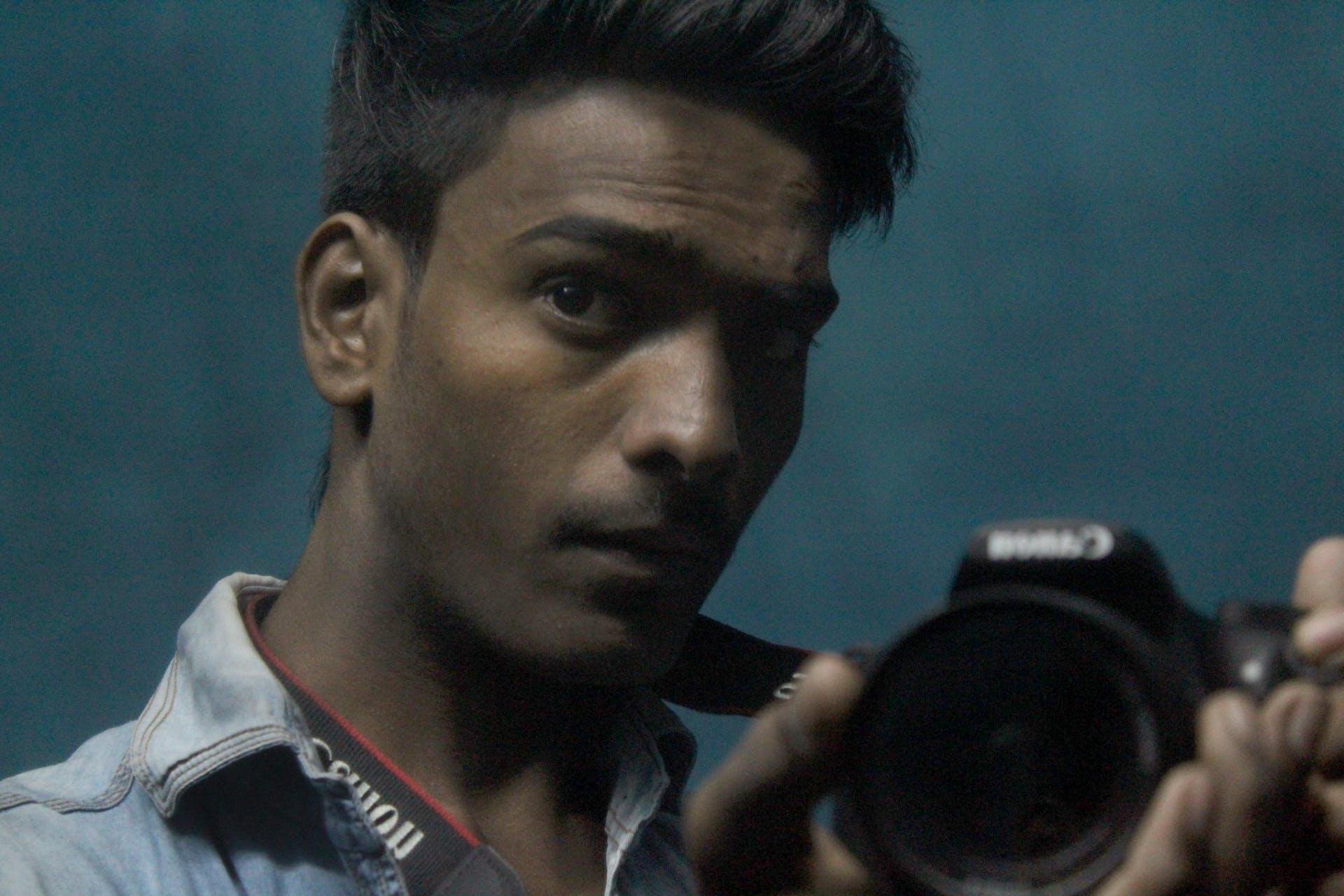 cool man creative young photography camera
