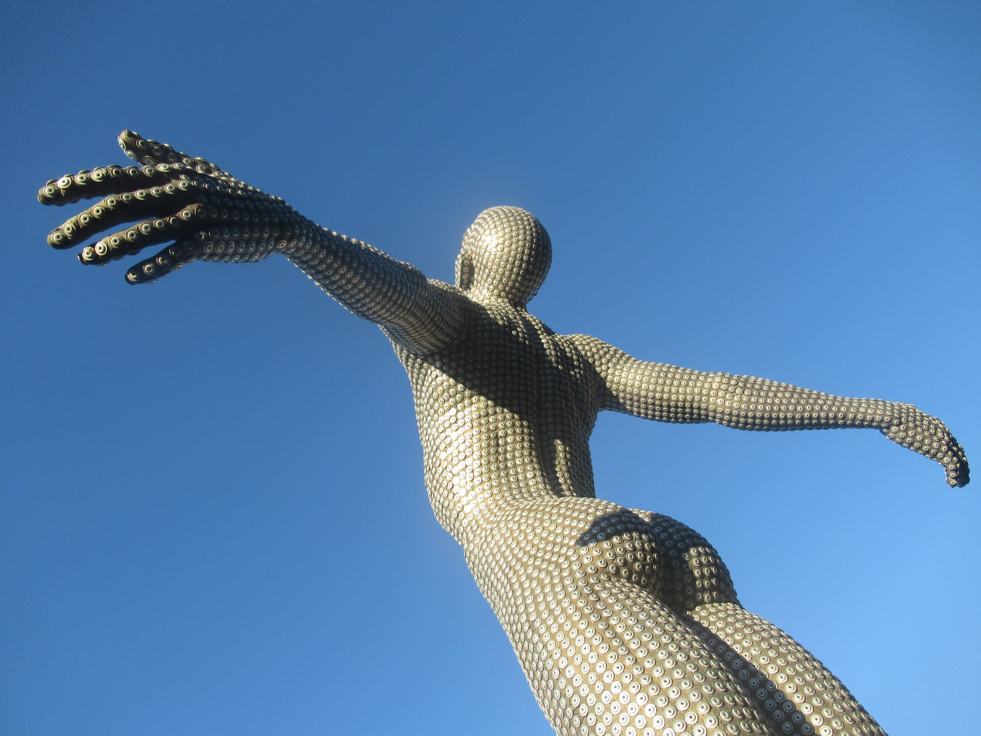 free stretch body man art statue everyday people cape town