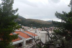 adriatic mountain kotor sea town fortress coast beautiful sky landscape