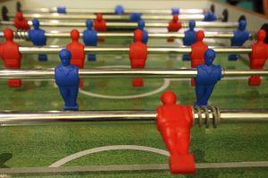 arcade play people kids games foosball children