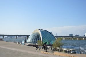 architecture daylight bridge building