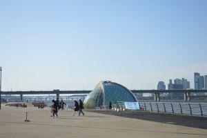 architecture dome daylight city bridge building