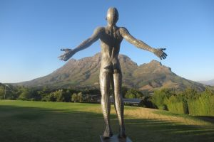 art body people free everyday cape town statue stretch man