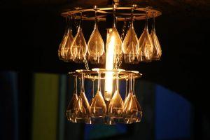 art wine wine classes light creative chandelier decor