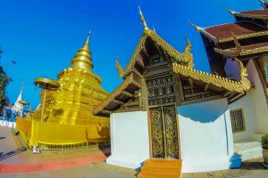 asian art tourism religious sri temple attraction thong wat lanna