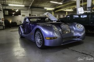 automotive morgan car transportation aero 8 rare